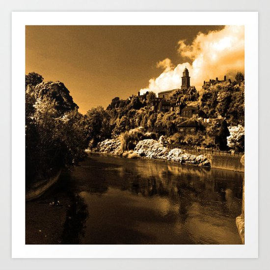 Bridgnorth Art Print by Sammycrafts : Society6