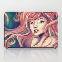Technicolor Mermaid iPad Case