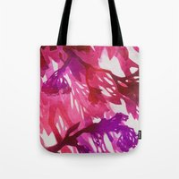 Morning Blossoms 2 - Magenta Variation Tote Bag