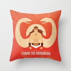SON OF CROM Throw Pillow