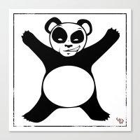 Panda X Canvas Print