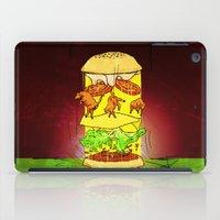 UFO Burger iPad Case