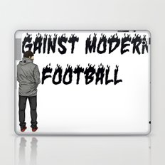 AGAINST MODERN FOOTBALL Laptop & iPad Skin