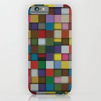 iPhone Cases featuring Patchwork by Brad Horton