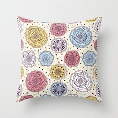 Floral Pattern #46 Throw Pillow