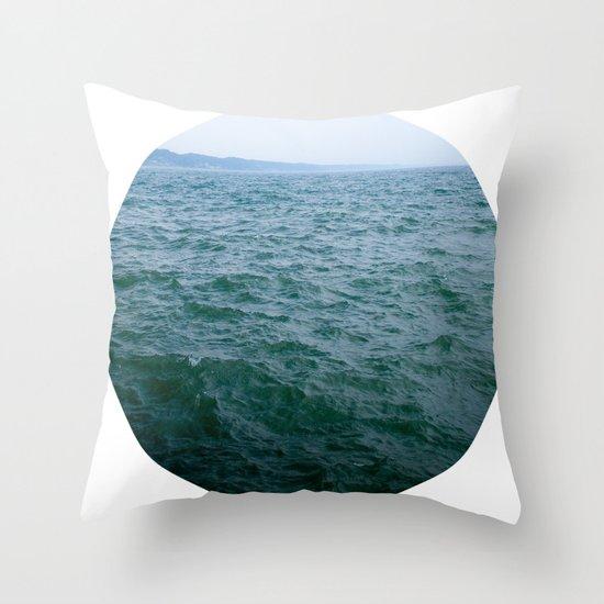 Nautical Porthole Study No.1 Throw Pillow