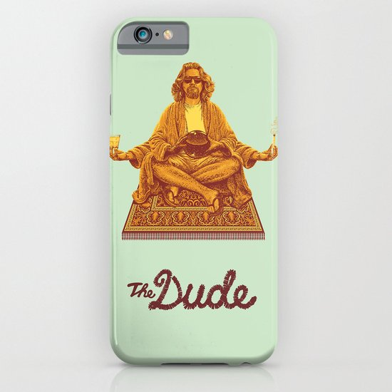 The Lebowski Series: The Dude iPhone & iPod Case