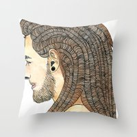 wild & free Throw Pillow