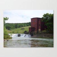 dillard mill 2016 III Canvas Print