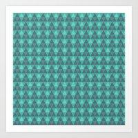 Pillow Pattern #5006500 Art Print