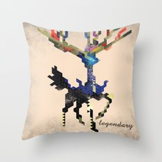 I Am Legendary X - Geometric Throw Pillow