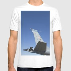 KC135 KC-135 Military Refueling Airplane/Aircraft USAF Mens Fitted Tee White SMALL