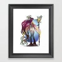 Fairy Queen Framed Art Print