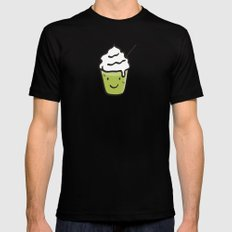 Green tea frappuccino Mens Fitted Tee Black SMALL