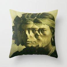 the indian wave 1 Throw Pillow