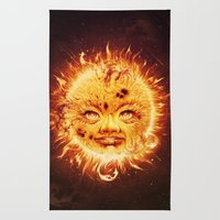 The Sun (Young Star) Rug