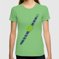 Watch_1 Womens Fitted Tee Grass SMALL