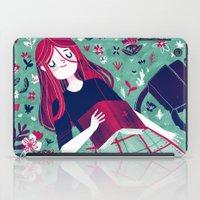 Flowe Bed iPad Case