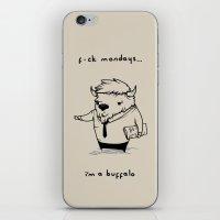 I'm a buffalo iPhone & iPod Skin