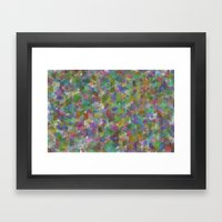 Panelscape - #8 society6 custom generation Framed Art Print