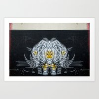 separate creature Art Print