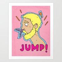 JUMP! Art Print