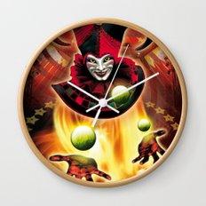 Poster Cirkus Wall Clock