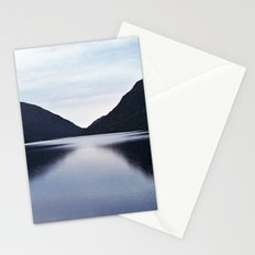 Mountain Lake Reflected Stationery Cards