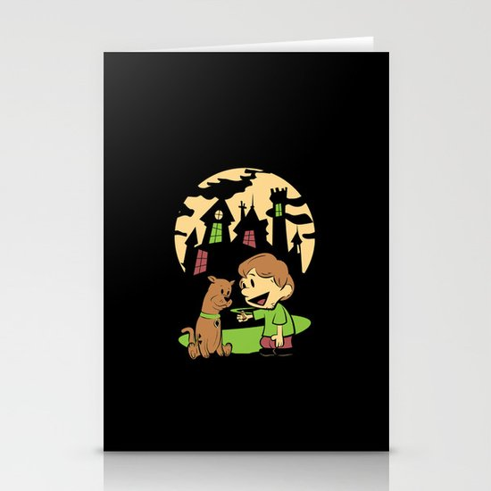Shaggy n Scoob Stationery Card