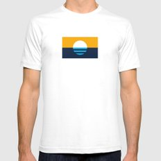 The People's Flag of Milwaukee SMALL Mens Fitted Tee White