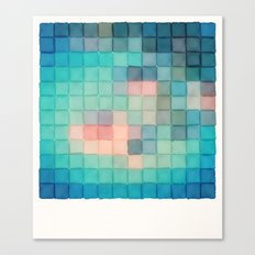 Polaroid Pixels VI (Crab… Canvas Print