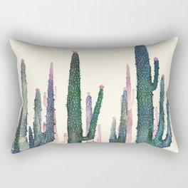 Rectangular Pillow - cactus water color cut - franciscomffonseca