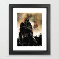 Le dernier survivant / The last survivor Framed Art Print