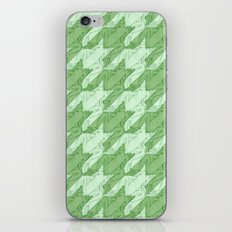frog houndstooth iPhone & iPod Skin