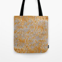 Natural embroidery Tote Bag