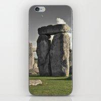moon henge... iPhone & iPod Skin
