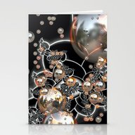 Rustic Pearls Stationery Cards
