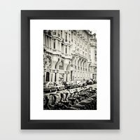 Parisian Street Framed Art Print