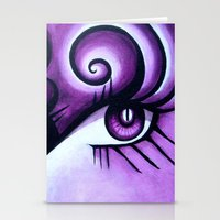 Expressive Eyes Stationery Cards