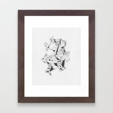Art of Geometry 4 Framed Art Print