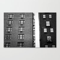 The West Side In New Yor… Canvas Print