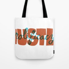 Hustle & Prolificacy Tote Bag