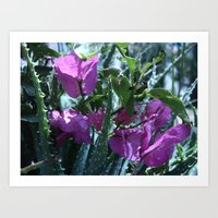 Flowers #11 Art Print