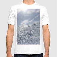 Alaska White Mens Fitted Tee SMALL