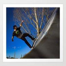 Northo skate park 22 Art Print