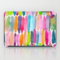 Colorful Dashes Tribal iPad Case
