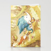 Starring Sonic And Miles… Stationery Cards