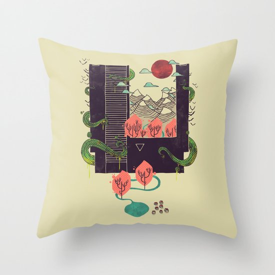 A World Within Throw Pillow