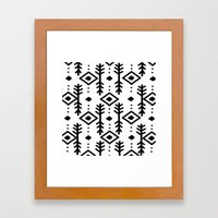 NORDIC Framed Art Print