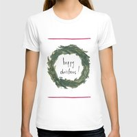 Happy Christmas! #3 Womens Fitted Tee White SMALL